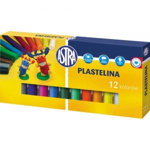Plastelina Astra 12 kolorów