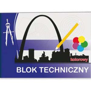 blok techniczny kolor