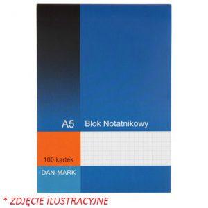 Blok notatnikowy A5